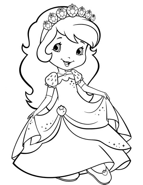 strawberry shortcake 24 coloringcolor com