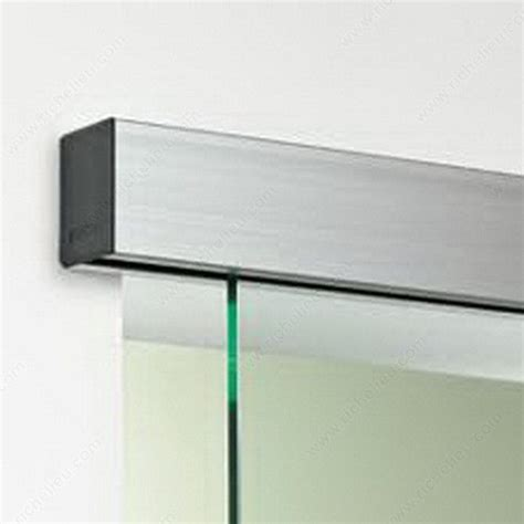 Wall Mount Sliding Door Hardware by Optima 150 Wall Mount Single Sliding Door System