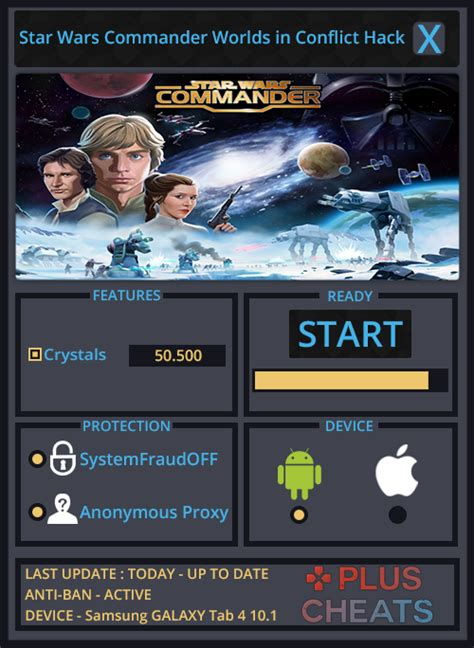 star wars commander worlds  conflict hack  files  tools  ios android pc games