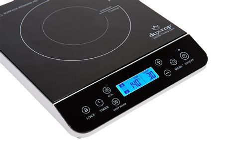 duxtop 1800 watt portable induction cooktop duxtop lcd 1800 watt portable induction cooktop countertop