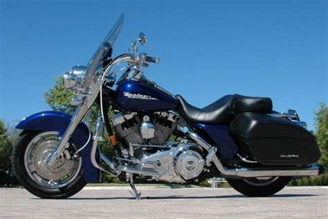 Harley Davidson 07 07 harley davidson road king custom flhrs blue pearl w