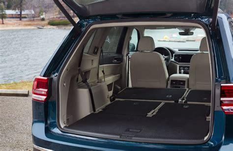 volkswagen atlas trunk 2018 volkswagen atlas passenger and cargo space