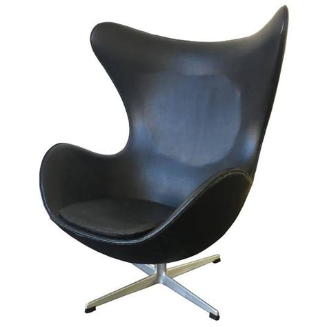 Scandinavian Chair by First Edition Arne Jacobsen Egg Chair In Good Original