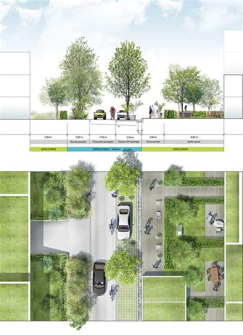plan masse architecture pinterest zac des bayonnes la compagnie du paysage