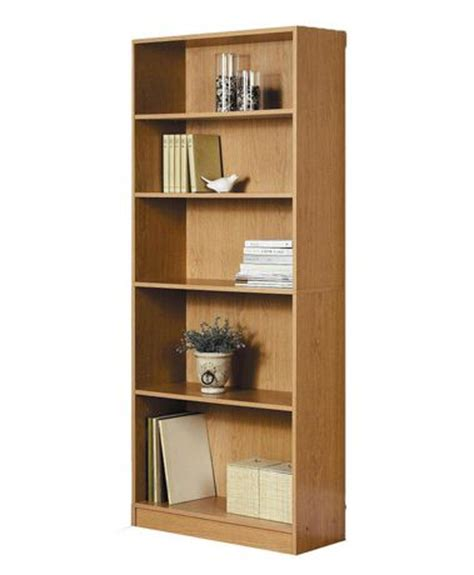 mainstays 5 shelf wood bookcase mainstays 5 shelf bookcase walmart ca