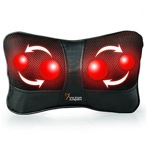 Bantal Pijat Shiatsu Car Heat Neck Pillow travel shiatsu kneading massager heat pillow car back neck support