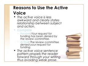 pattern of active voice active and passive dc75