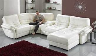 White Leather Recliner Sofa Set Sofa Best White Leather Sofa Living Room Ideas Leather Sofas White Couches For Sale White