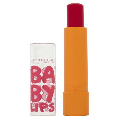 Maybelline Baby Cherry soin l 232 vres maybelline baby cherry me livraison