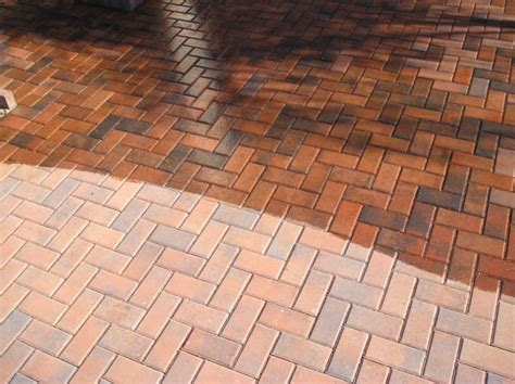 How To Seal A Paver Patio Clean And Seal Brick Paver Showroom Of Ta Bay
