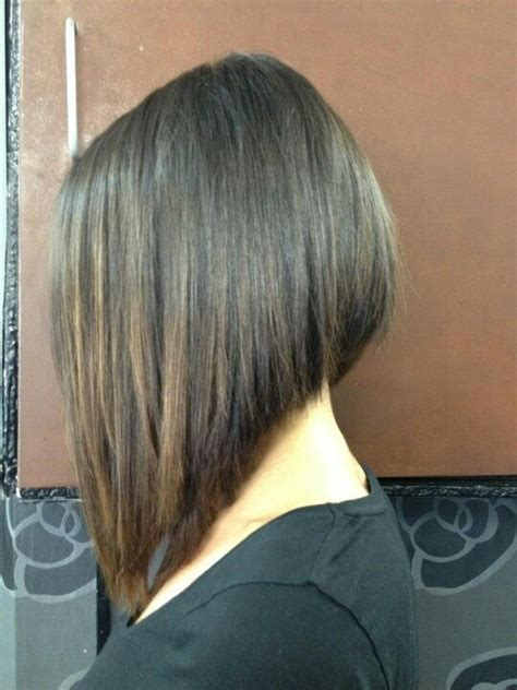 stacked bob haircut long points in front lange bob kapsel pinterest bobs