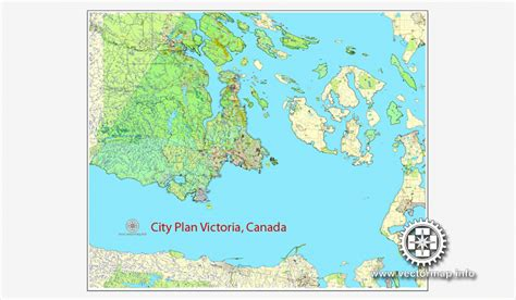 printable maps victoria bc victoria printable vector map of victoria v 2 canada