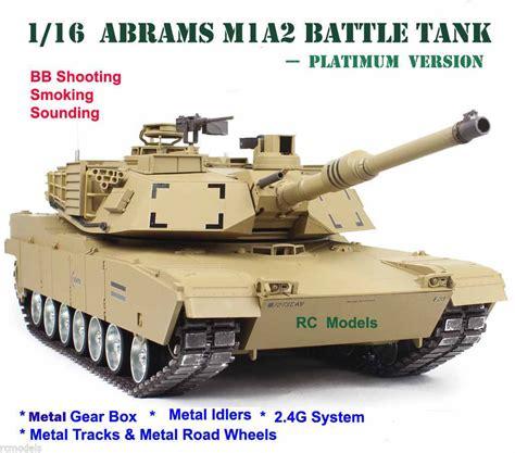 Cover Tank Platinum 2 heng abrams m1a2 radio remote controlled rc tank 1 16 large platinum ebay