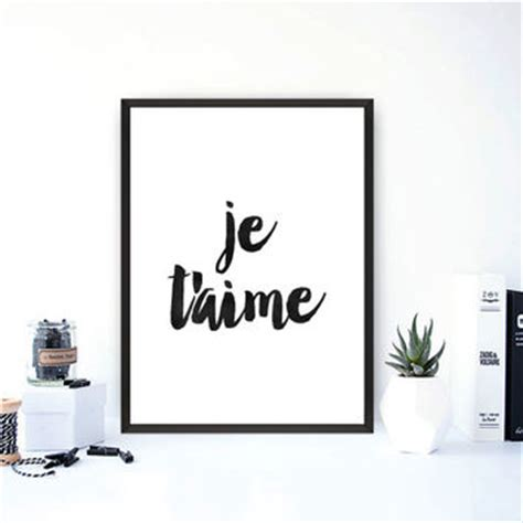 french word for home decor holy chic printable typography wall art from typoarthouse