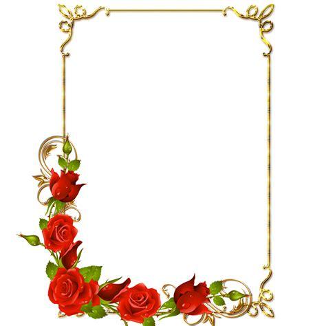 cornici png central photoshop frames png douradas rosa vermelhas