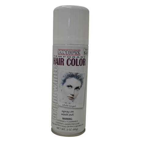 goodmark temporary hair color spray white pretend play arts crafts for walmart