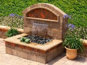 Flowers Fontana - outdoor garden wall fountains design ideas models home