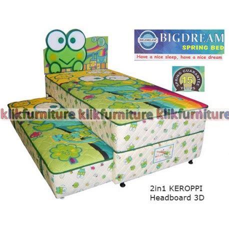 Kasur Vienna 200x200x17 Cm Musterring Bed bigdream bed 2in1 anak keroppi distributor langsung