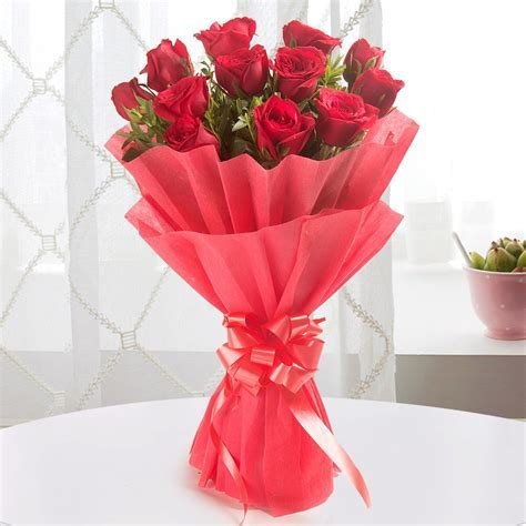 Send Enigmatic Red Flowers Online from BookMyFlowers