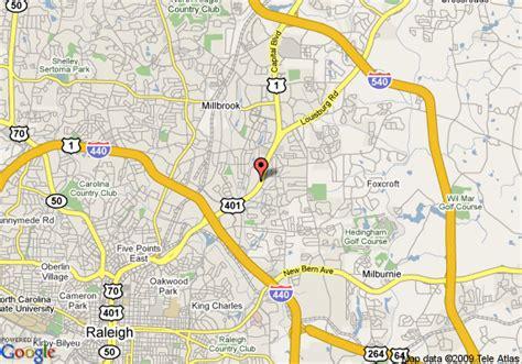 raleigh map map of raleigh days inn raleigh