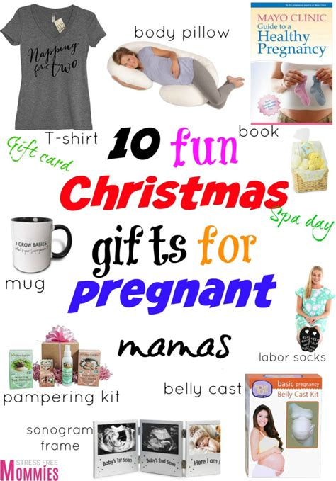 10 fun christmas gifts for pregnant mamas stress free