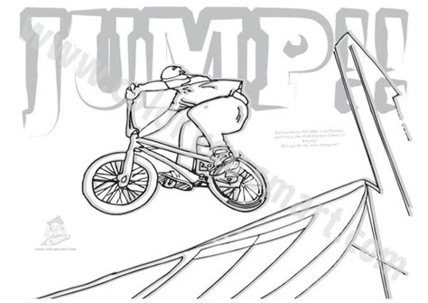 Bmx Coloring Page by Bmx Bike Colouring Pictures Printable Coloring Pages
