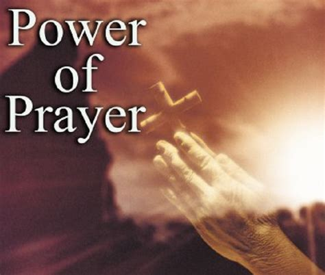 Power In Prayer praying for