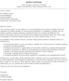 Phlebotomy Resume Cover Letter good phlebotomy cover letter how to write a resume in simple steps