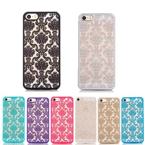 Iphone 6 6s Cookie Pattern Hardcase phone for iphone 6 6s lace flower pattern plastic back frosted phone back cover