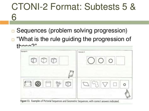 Ctoni 2 Report Template The Ctoni 2 Comprehensive Tests Of Nonverbal Intelligence