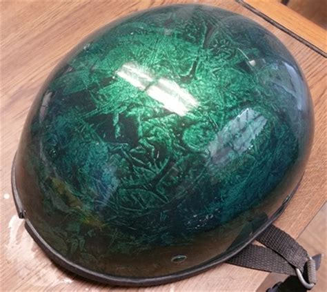 Helm Schwarz Lackieren by Custom Painted Helmets Td Customs Paint Body