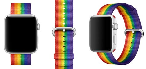 Mac Pride Pins Made From Apple by Apple Pride Edition Band Proceeds To Be Shared With