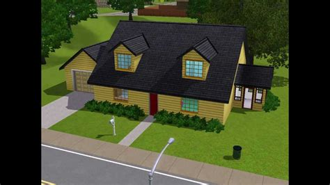 The Simpsons House Floor Plan the sims 3 family guy house perfect youtube