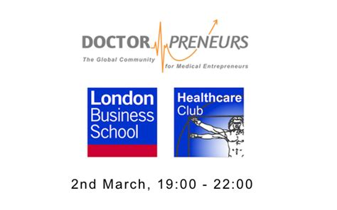 Lbs Mba Dates by Careers In Healthcare Startups Event At Business