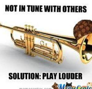 Trumpet Player Memes - image gallery trumpet memes