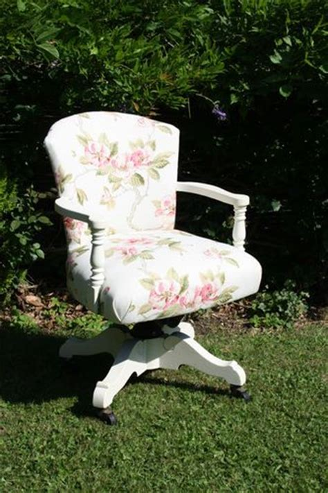 shabby chic office swivel chair ebay chairs pinterest