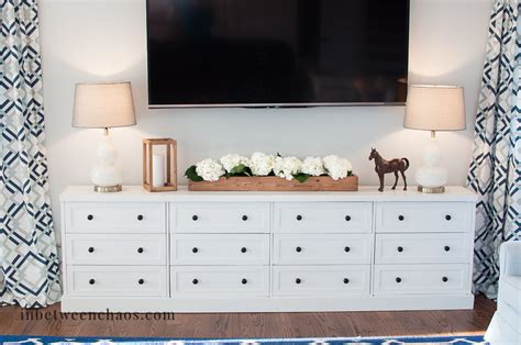 ikea media console hack throwback thursday my first project