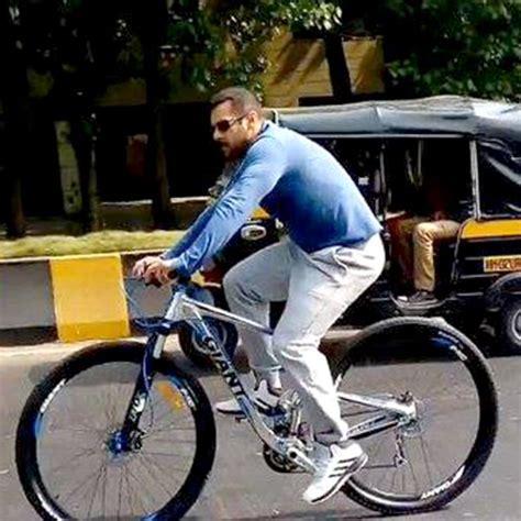mercedes bicycle salman khan from kick to ek tha tiger salman khan definitely has a