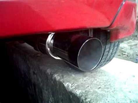 Knalpot Mobil Toyota Yaris suara knalpot racing hks mobil yaris