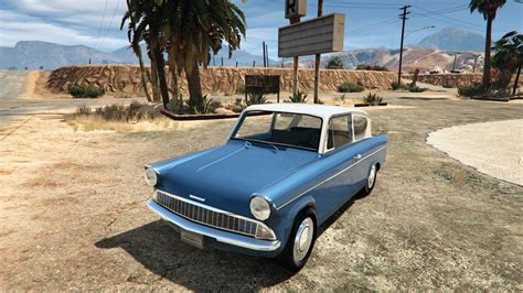 ford anglia harry potter gta 5 1959 ford anglia from harry potter mod gtainside
