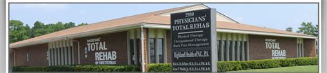 Nc Detox Directions by Fayetteville Nc Physicians Total Rehab Highland