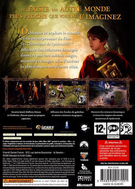 the spiderwick chronicles boxed the spiderwick chronicles box shot for xbox 360 gamefaqs