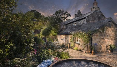Cornwall Cottage With Tub by Cornwall Luxury Moorland Cottage With Tub And