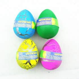 packed novelty expansion hatching dinosaur easter eggs