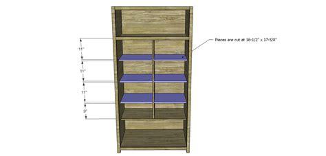 alans plans build alan s larder cabinet designs by studio c