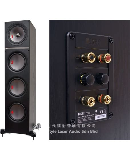 16 7 Ready Stock New Arrival 306 1 kef q750 floor standing speaker with grille