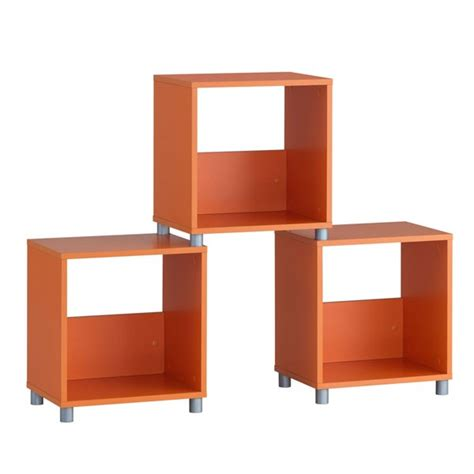 Cube Cabinet by Cube Cabinet Orange Medium Fortrade