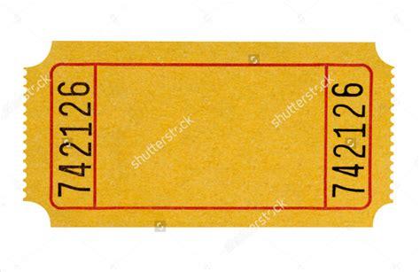blank ticket templates 21 free psd vector eps ai