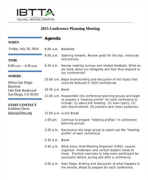 preparing meeting agenda venturecapitalupdate com