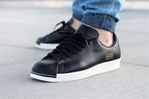 Adidas Superstar Cowok Premium White 1 adidas originals superstar 80s clean black watm magazine